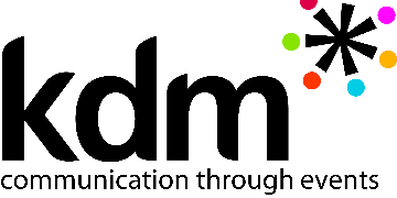 KDM Events logo